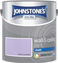 Johnstones Sweet Lavender Coloured Emulsion